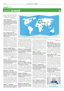 World news-in-brief (en page 11)