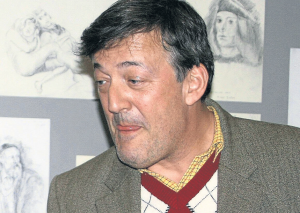 Stephen Fry |photo: Wikimedia (Brian Minkoff – London Pixels)