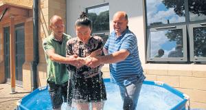 Baptism at Moorlands Church