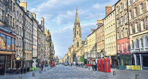 The view down the Royal Mile - Edinburgh. (photo: iStock)