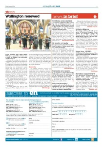 News in brief - February issue