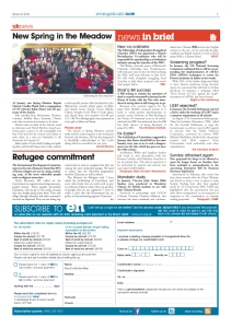 News in brief - March issue page 3
